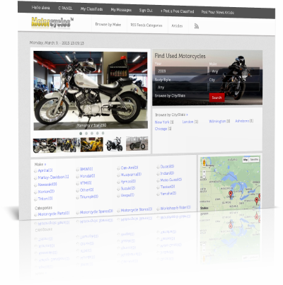 adSoftPro Motorcycles classifieds ads